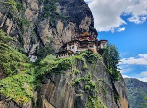 Tiger nest monastery in Paro, Bhutan